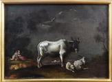 Langmayer - Pasáčci s býkem, kozlem a ovečkou (1).JPG