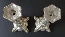 Párové stříbrné svícny - jednoplamenné (6).JPG