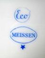 Nápojový a jídelní art deko servis - Míšeň, Teichert (7).JPG