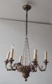 Biedermeierový dřevěný lustr s řetězem (1).JPG