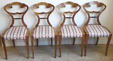 Čtyři židle s vějíři - Biedermeier (1).JPG