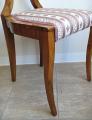 Čtyři židle s vějíři - Biedermeier (6).JPG