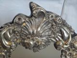 Stříbrné stolní zrcadlo - Pozdní Biedermeier, Vídeň 1853 (5).JPG