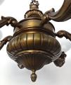 Neobarokní bronzový lustr se šesti rameny (8).JPG