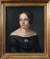 Portrét dámy s broží - Biedermeier 1840 - 1860 (2).JPG
