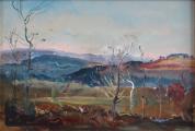 Jindřich Stehlík - Podzimní krajina se stromy (2).JPG