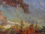 Hans Chrystoph - Podzimní krajina s hradem (4).JPG