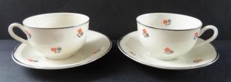 Přátelský porcelánový kávový servis - Anton Weidl, Gloria (4).JPG