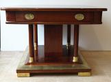 Secesní rozkládací stůl v mahagonu (2).JPG