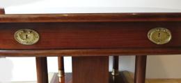 Secesní rozkládací stůl v mahagonu (4).JPG