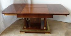 Secesní rozkládací stůl v mahagonu (6).JPG