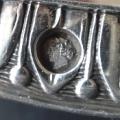 Kulatý stříbrný empírový talíř - Francie 1809 - 1819 (6).JPG