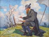 František Cína Jelínek - Malíř v plenéru (2).JPG