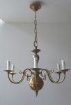 Flemish brass candelier