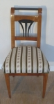 Biedermeier cherry chair