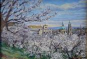 J. Brušák - Strahovská zahrada v květech