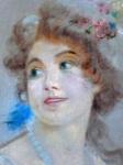 Dívčí portrét s korály
