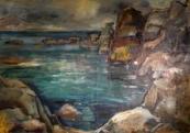 Jan Miroslav Sladek - Sea cliffs