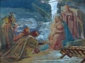 Rudolf Černý - Klanění tří králů