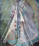 Božena Kuhnová-Komancová - Týpí