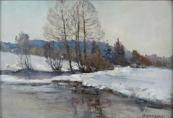 Zdeněk Nemastil - Na břehu zimní řeky