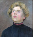 Antonín Majer - Portrét dívky