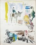 Josef Liesler - Painting Study