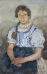 František Hlavica - Selská dívka