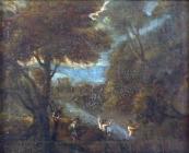Jan Baptista Huymans, připsáno - Koupání