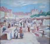 Vladimír Boušek - Trh na náměstí