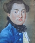 Portrét muže - rokoko