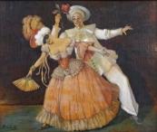 Oskar Seifarth - Pierot s dámou