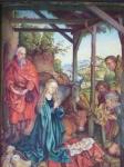 Martin Schongauer - Narození Ježíška, kopie