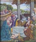 Domenico Ghirlandaio - Klanění pastýřů , kopie