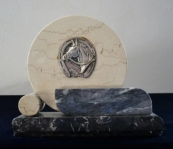 Marble paperweight