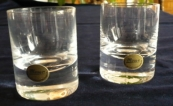 A pair of small glasses - Moser