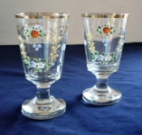 Pair of glasses painted by email