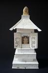 Domácí oltář s budhou