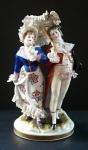Galantní pár se slunečníkem - Volkstedt, Rudolstadt