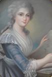 Simon Bernard Lenoir - Portrait of a young paintress