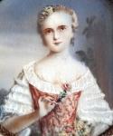 E.Moliere - Dívka s růžemi