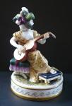 Hráčka na kytaru v čepci - Volkstedt, Rudolstadt