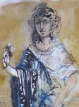 Hans Erni - Antická dívka (Andromeda)