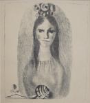 Karel Svolinský - Dívka s květy