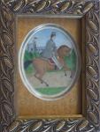 Jezdec na koni - Hohenberg a.d.Eger , Německo