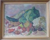 Jan Váchal - Zátiší se zeleninou