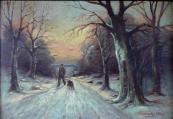 Alois Procházka - Hajný se psem