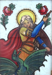 Podmalba se sv. Markétou