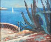 Božena Kuhnová - Komancová, Pohled na moře
