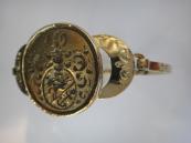 Zlatý náramek se šlechtickým pečetidlem